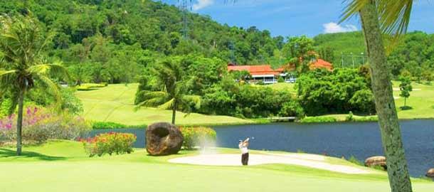 Hua Hin on suosittu golfkohde Thaimaassa