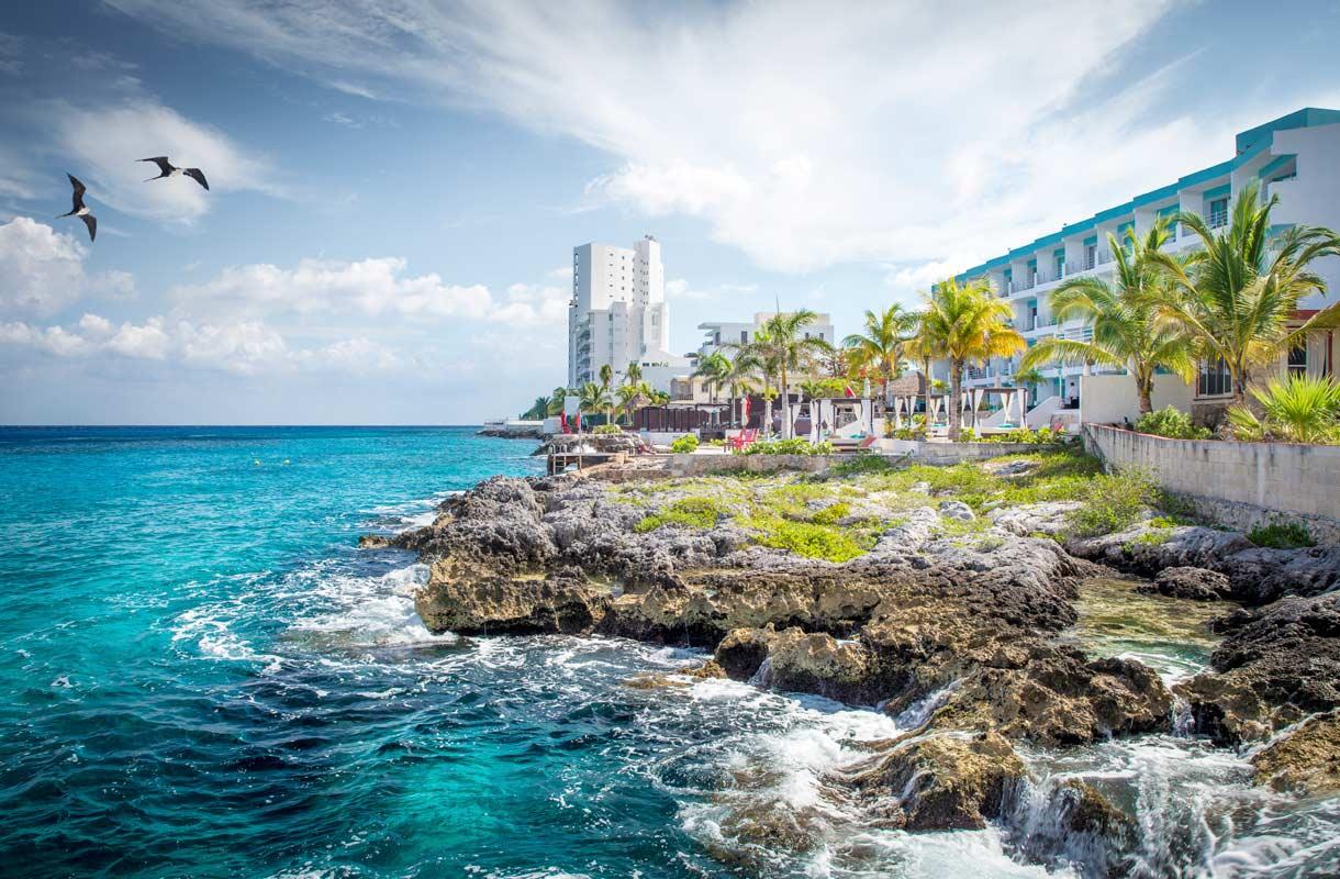 Rantahotelli Meksikossa
