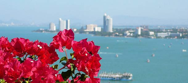 Pattayan kaupunki Thaimaassa
