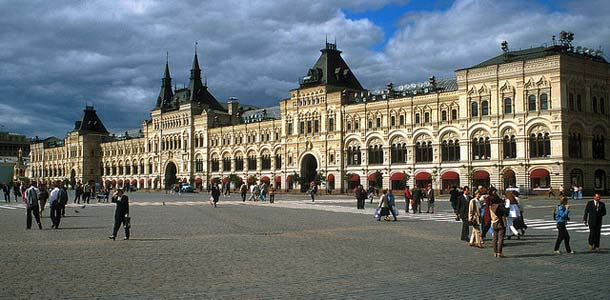 Punainen tori on Moskovan tärkeimpiä nähtävyyksiä
