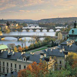 Vltava on Tšekin pisin joki.