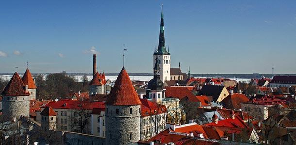 Vanhankaupungin katot Tallinnassa