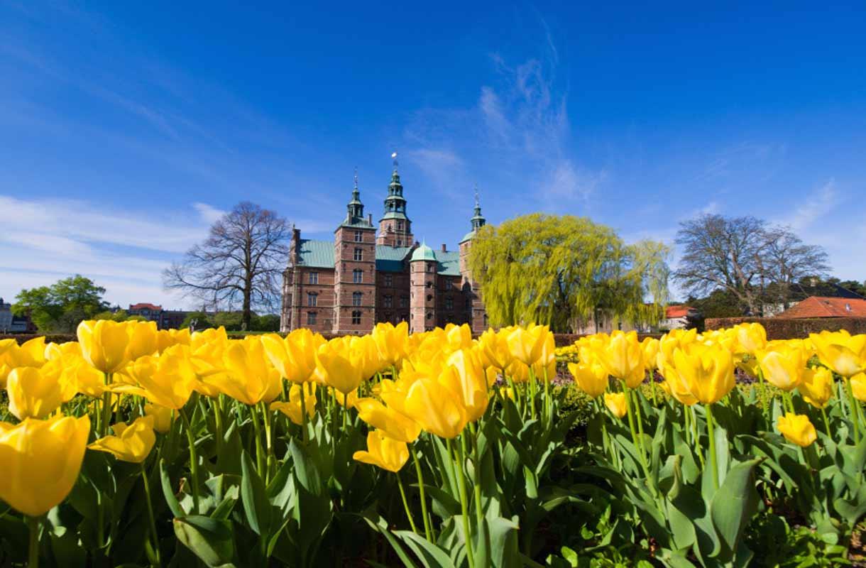 Kööpenhamina on parhaimmillaan keväällä ja kesällä.