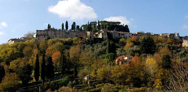 Toscanan kauniita maisemia