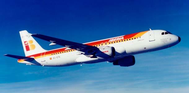 Airbus A320 ilmassa
