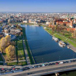 Veiksel-joki, Krakova