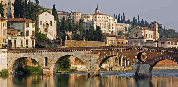 Romeon ja Julian kotikaupunki Italiassa