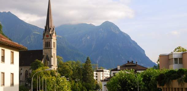 Majoitus ja liikkuminen Liechensteinissa
