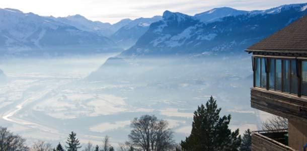 Vuoristomaisemia Liechtensteinissa