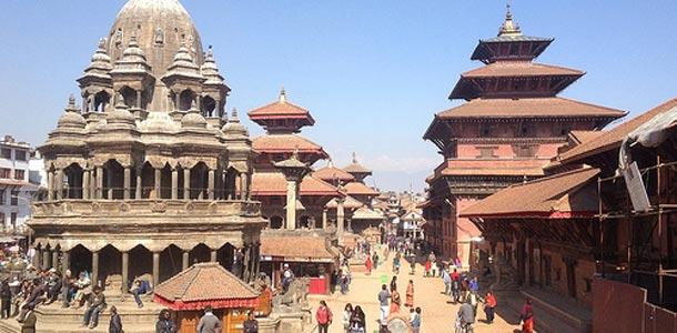 Nepalin pääkaupunki Katmandu