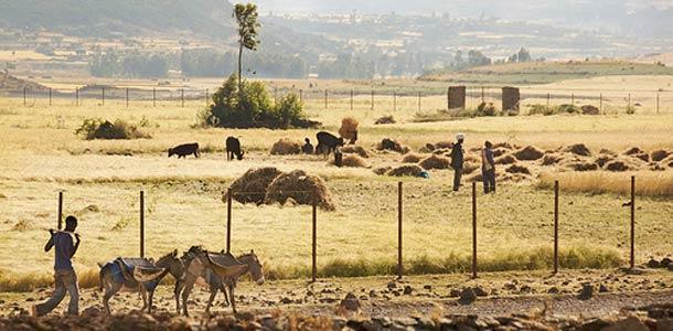 Etiopiassa sää on yleisesti lämmin