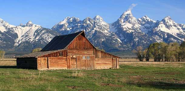 Wyoming on vuoristoinen osavaltio