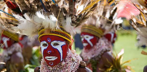 Papua Uusi Guinea ei kuulu yleisimpiin turistikohteisiin