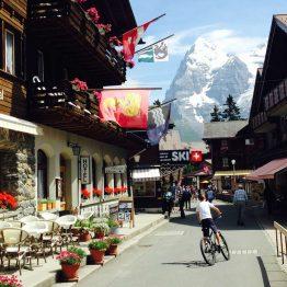 Mürren, Sveitsi
