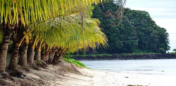 Samoa koostuu kahdesta pääsaaresta