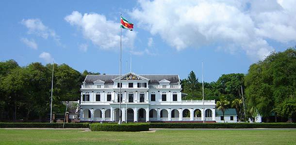 Surinamessa nähtävää