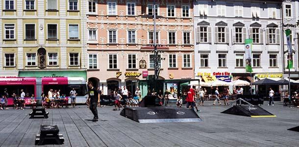 Grazissa kevät alkaa varhain
