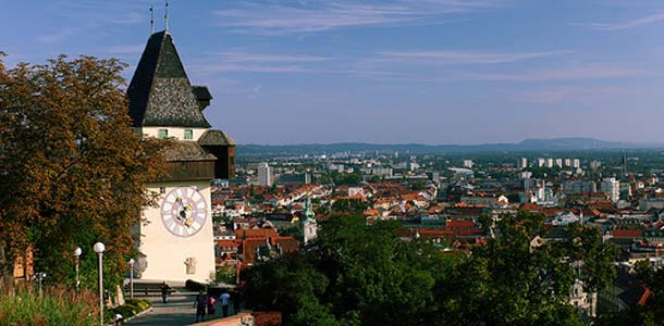 Grazissa historiallista arkkitehtuuria