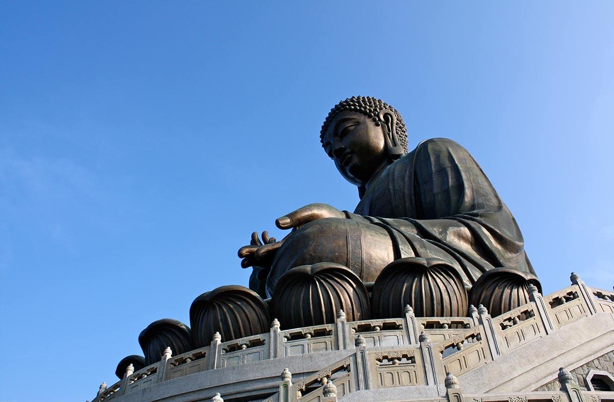 Big Buddha -patsas Hongkongissa