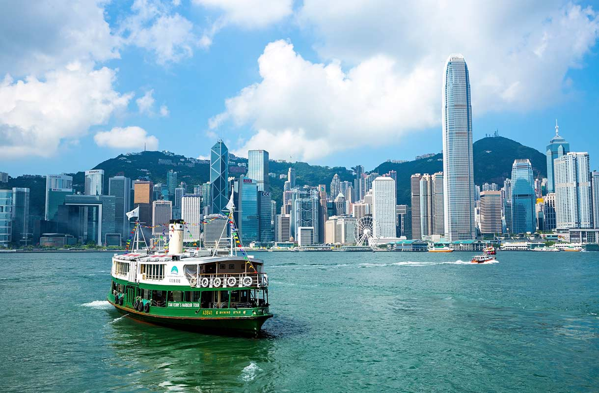 Victoria Harbour Hongkongissa
