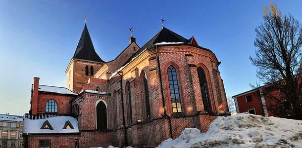 Johanneksen kirkko on yksi Tarton suosituimmista nähtävyyksistä