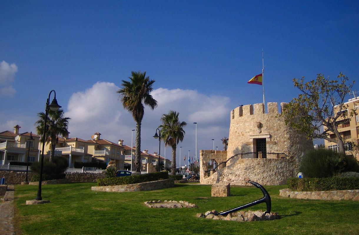 Torre del Moro on Torreviejan paras näköalapaikka.