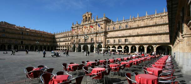 Salamancan keskusaukio