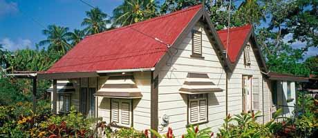 Karibialaista arkkitehtuuria
