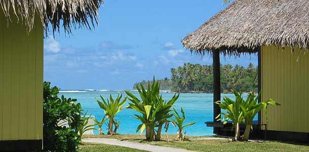 Rantabungaloweja Tahitilla
