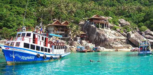 Sukellusta Koh Taolla