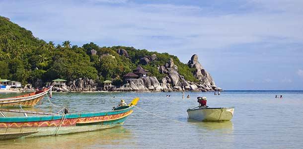 Veneitä Koh Taolla