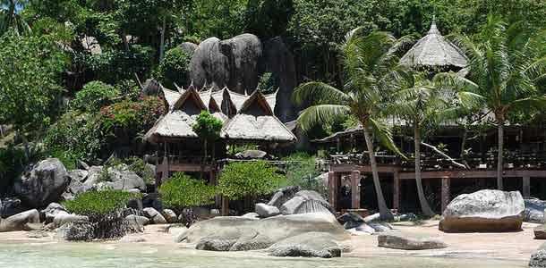 Rantamaja Koh Taolla Thaimaassa