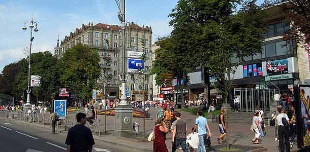 Lennot, majoitus ja liikkuminen Kiovassa