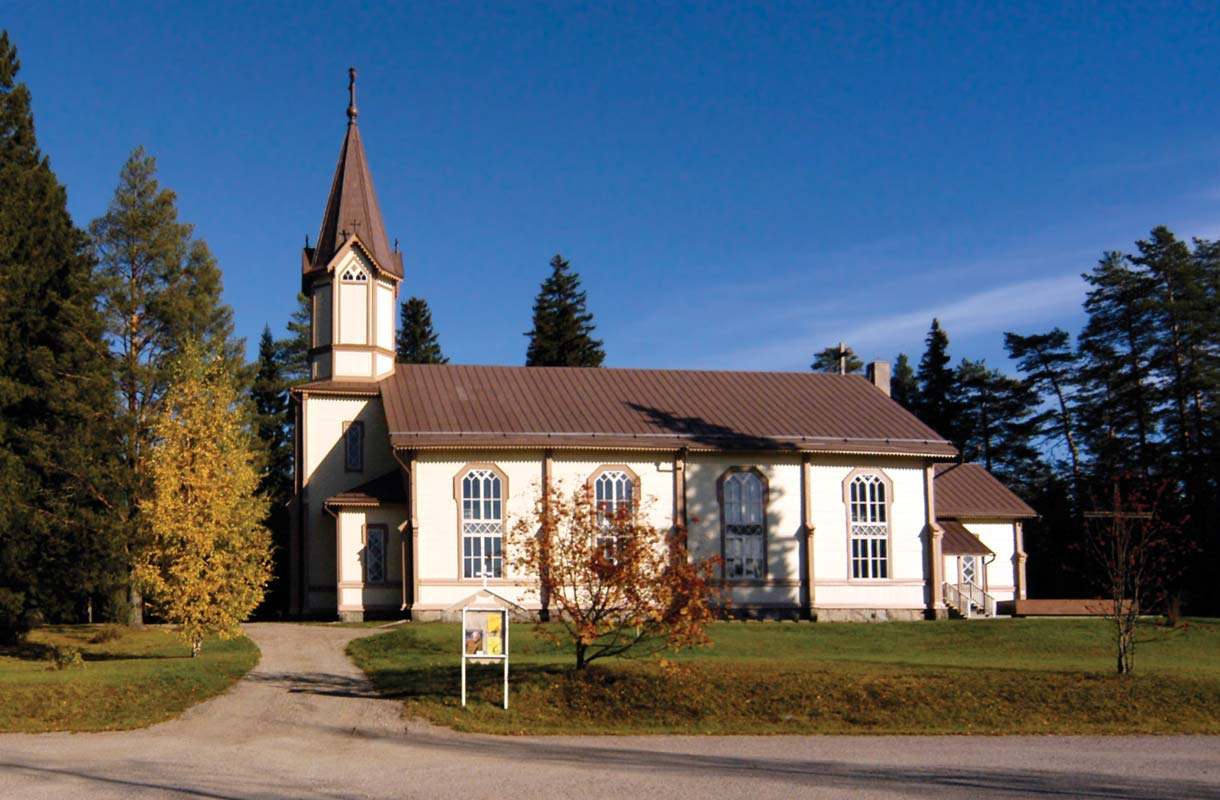 Tuupovaaran kirkko Joensuussa.