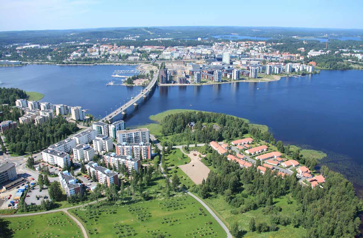 Jyväsjärvi on jyväskyläläisten suosiossa kesät talvet.