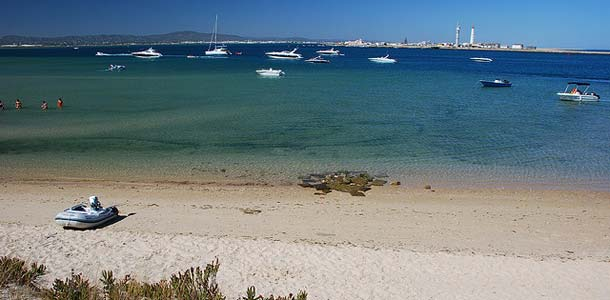 Algarven keskus matkakohteena