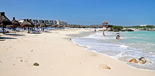 Meksikon Cancun on maan suosituimpia lomakohteita