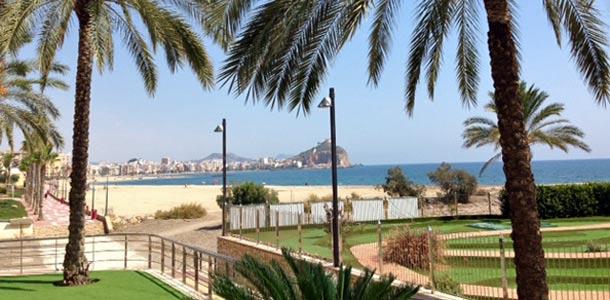 Kaupunkeja ja rantoja Murciassa
