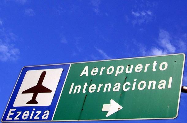 Buenos Airesin lentoasema Ezeiza