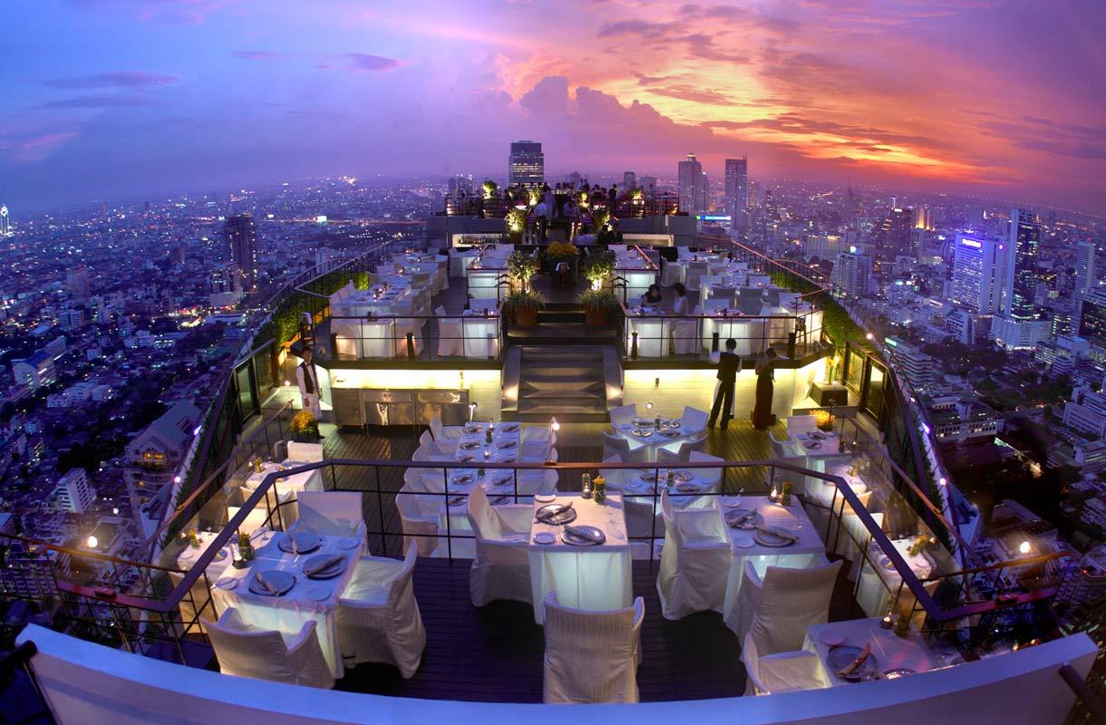 Näköalaravintola Vertigo Bangkokissa
