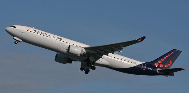 Brussels Airlinesin lentokone