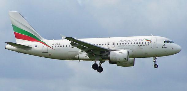 Bulgaria Airin lentokone