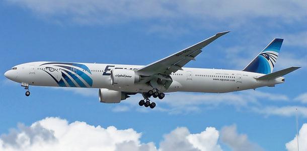 Egyptairin lentokone