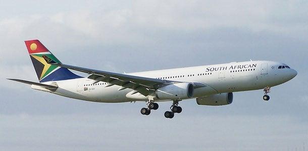 South African Airwaysin lentokone