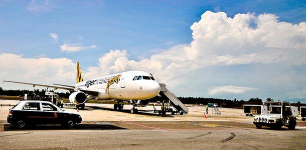 Tiger Airwaysin lentokone
