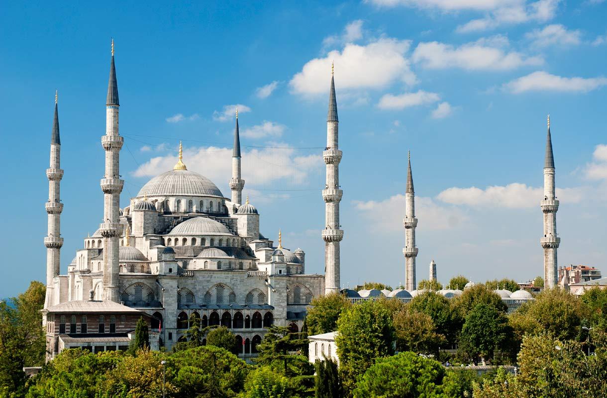 Istanbulin Sininen moskeija