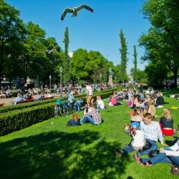Esplanadin puisto on yksi Helsingin kauneimmista.