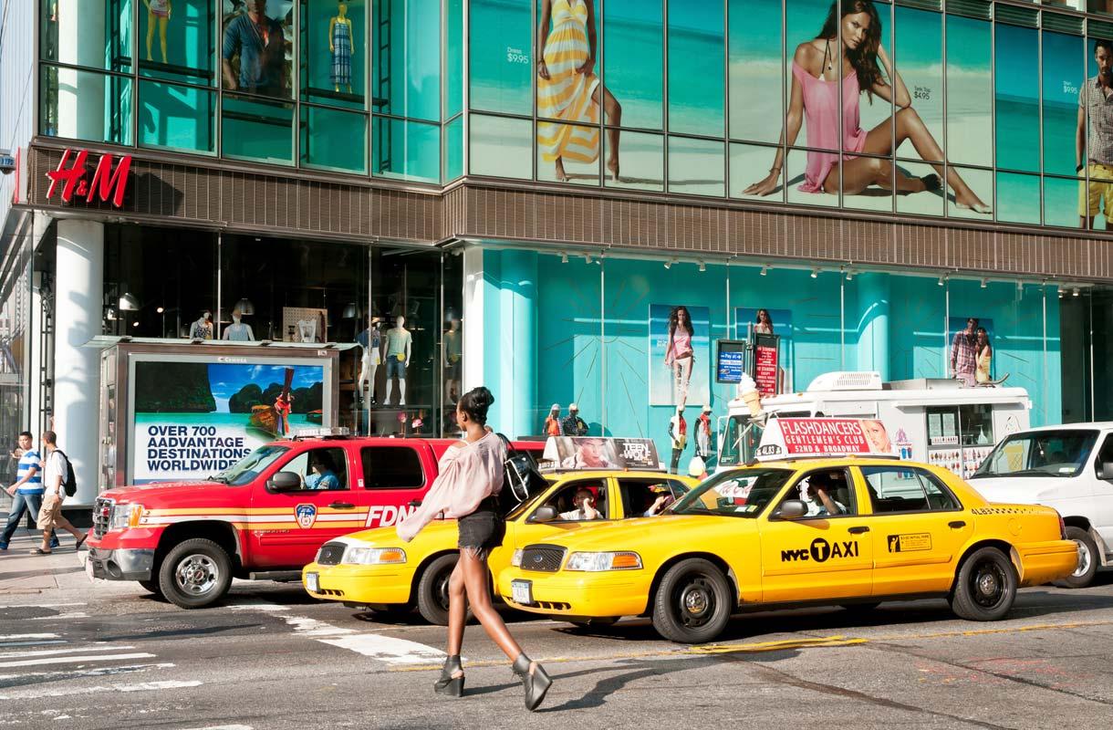 Ostoksilla New Yorkissa