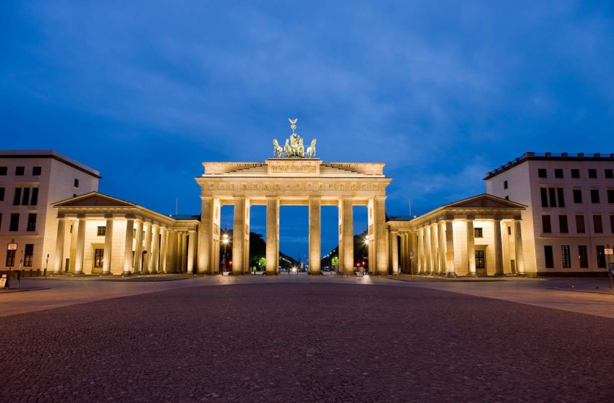Brandenburgin portti Berliinissä