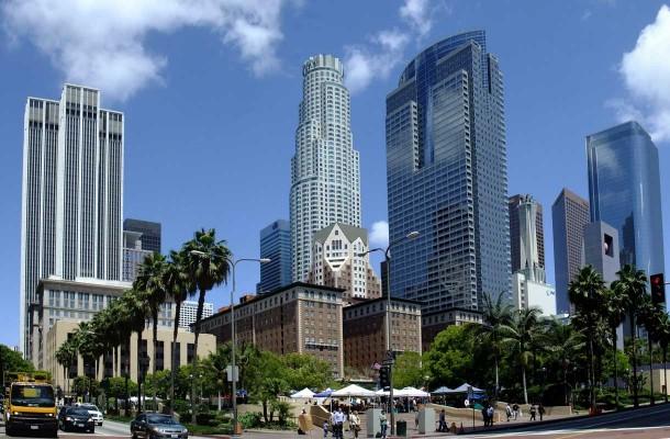Los Angeles keskusta